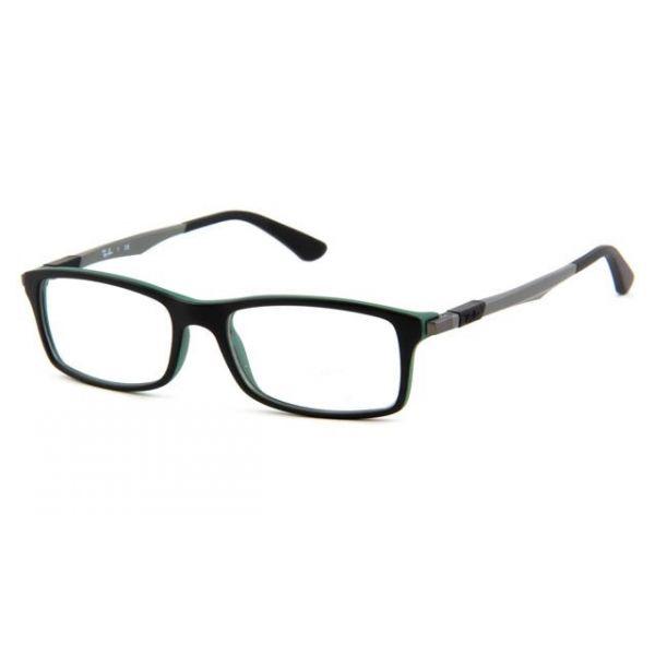 Leesbril Ray-Ban RX7017-5197-54 mat zwart/groen-1-LUX1089