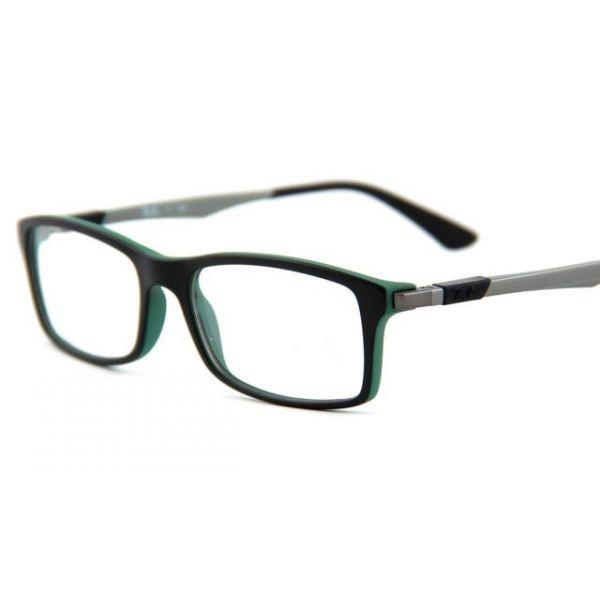 Leesbril Ray-Ban RX7017-5197-54 mat zwart/groen-4-LUX1089