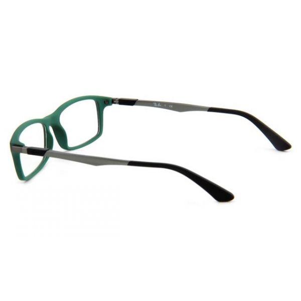 Leesbril Ray-Ban RX7017-5197-54 mat zwart/groen-3-LUX1089