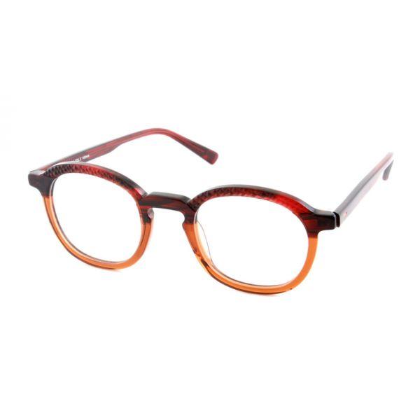 Leesbril State of Art 074 rood / bruin-1-MOR1010