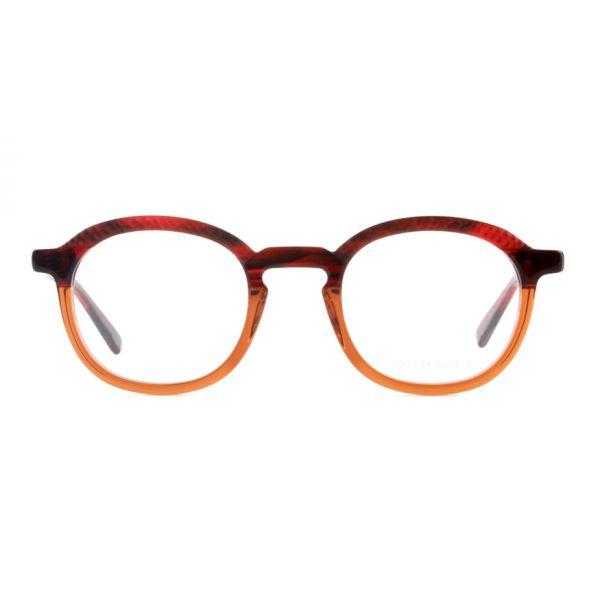 Leesbril State of Art 074 rood / bruin-2-MOR1010