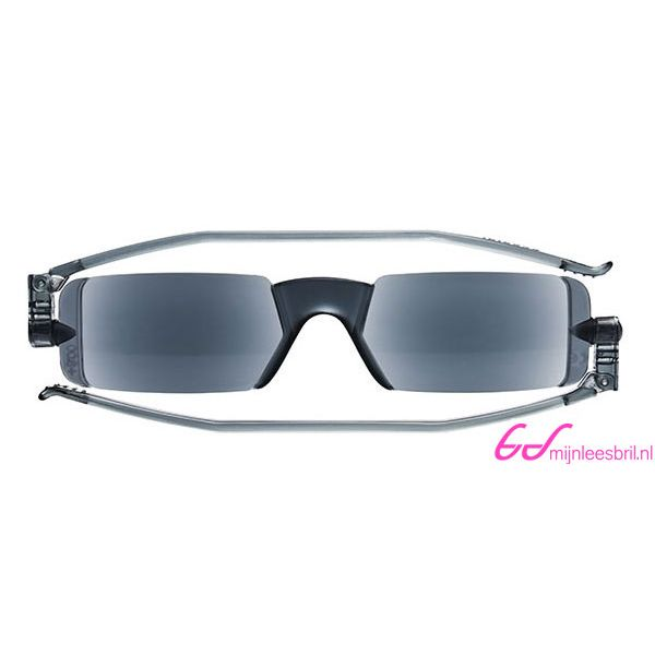 Leesbril Nannini compact opvouwbaar-Zwart-+1.00-1-ETU1007100