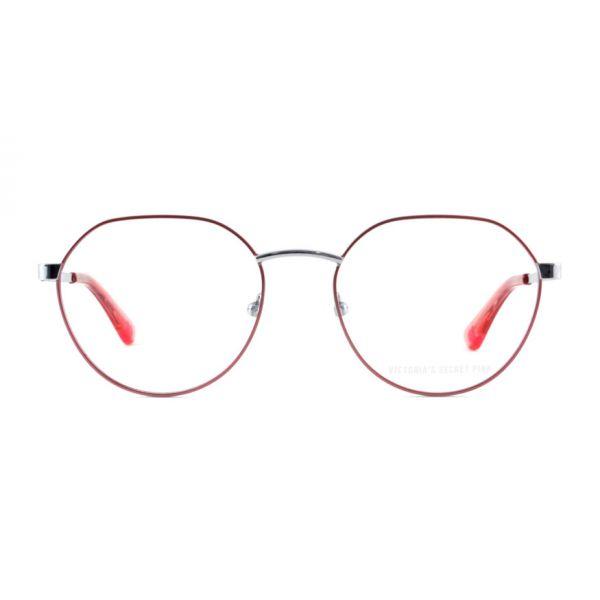 Leesbril Victoria's Secret Pink PK5002/V 072 roze zilver-2-MCR1016