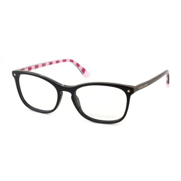 Leesbril Victoria's Secret VS5007/V 001 zwart roze streep-1-MCR1020