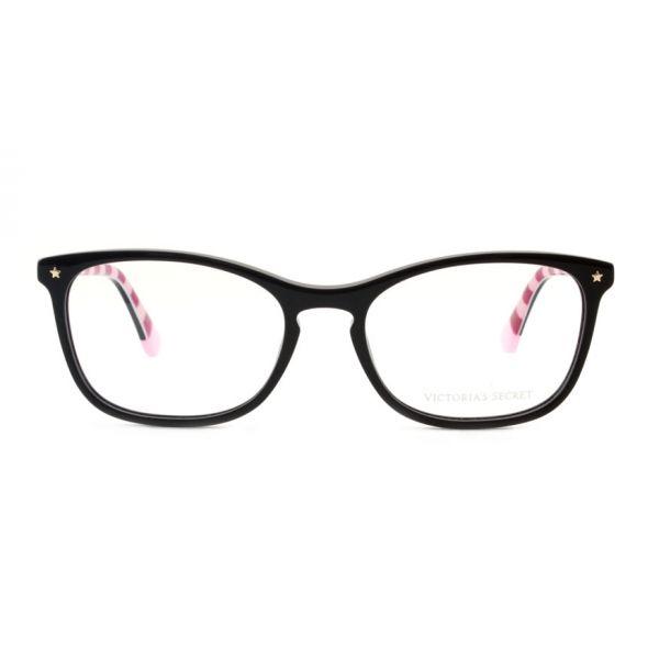 Leesbril Victoria's Secret VS5007/V 001 zwart roze streep-2-MCR1020