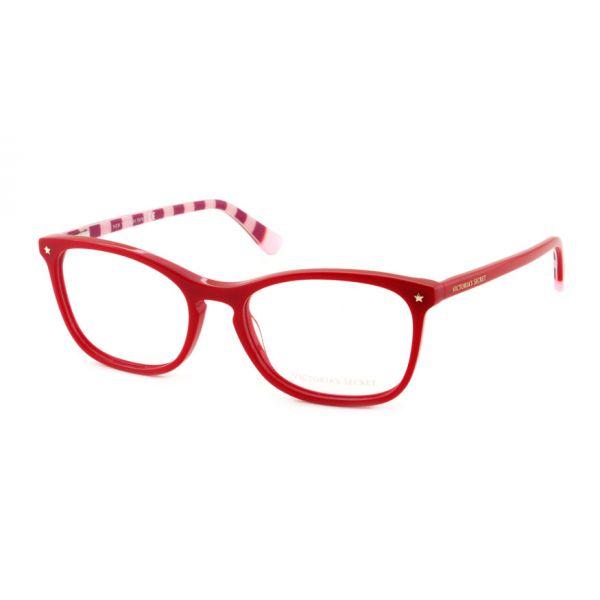 Leesbril Victoria's Secret VS5007/V 066 rood roze/rood streep -1-MCR1021