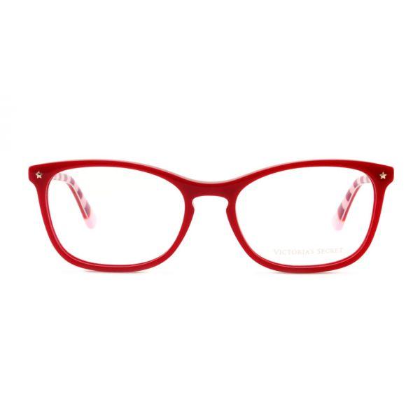 Leesbril Victoria's Secret VS5007/V 066 rood roze/rood streep -2-MCR1021