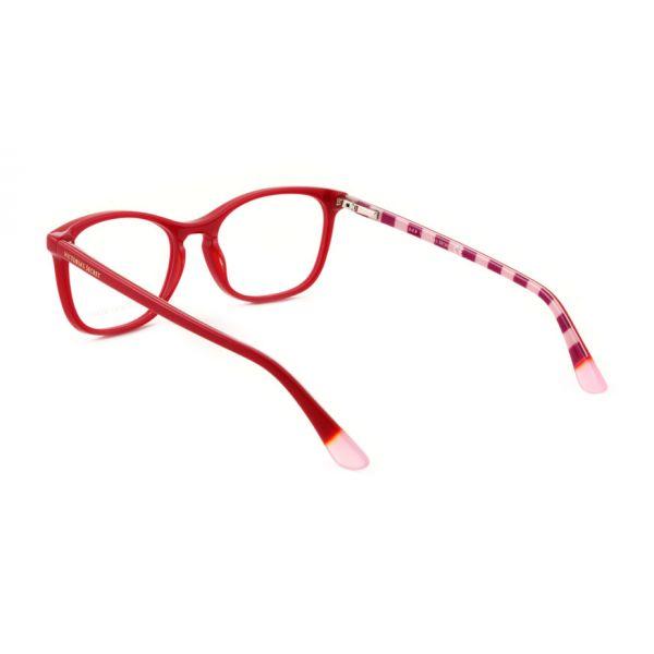 Leesbril Victoria's Secret VS5007/V 066 rood roze/rood streep -3-MCR1021