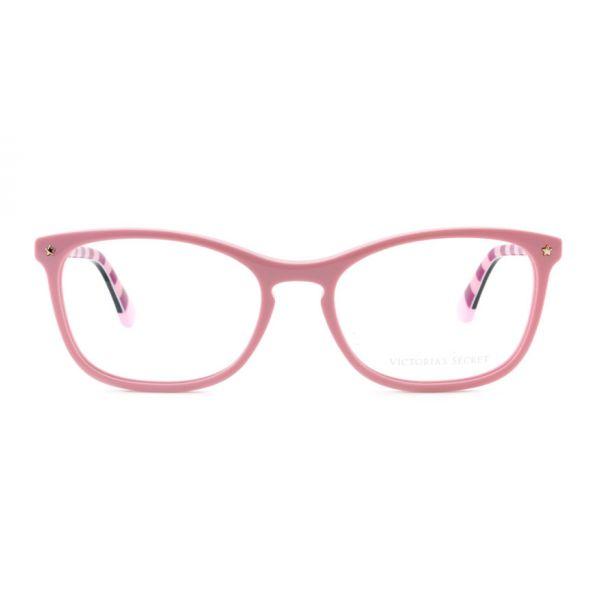 Leesbril Victoria's Secret VS5007/V 072 roze zwart roze/rood streep -2-MCR1022
