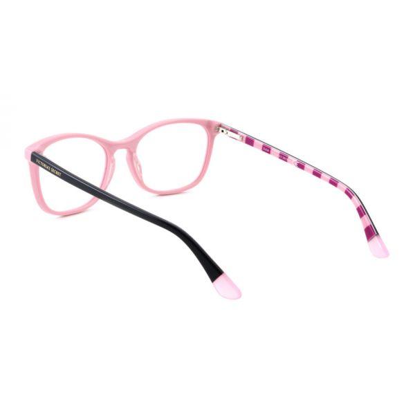 Leesbril Victoria's Secret VS5007/V 072 roze zwart roze/rood streep -3-MCR1022