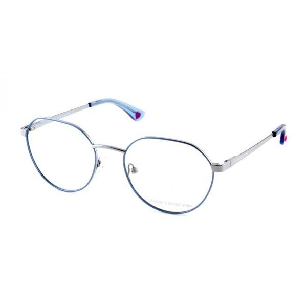 Leesbril Victoria's Secret Pink PK5002/V 090 blauw zilver -1-MCR1017