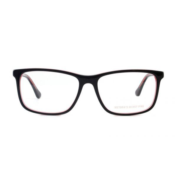 Leesbril Victoria's Secret Pink PK5009/V 005 zwart roze transparant-2-MCR1012