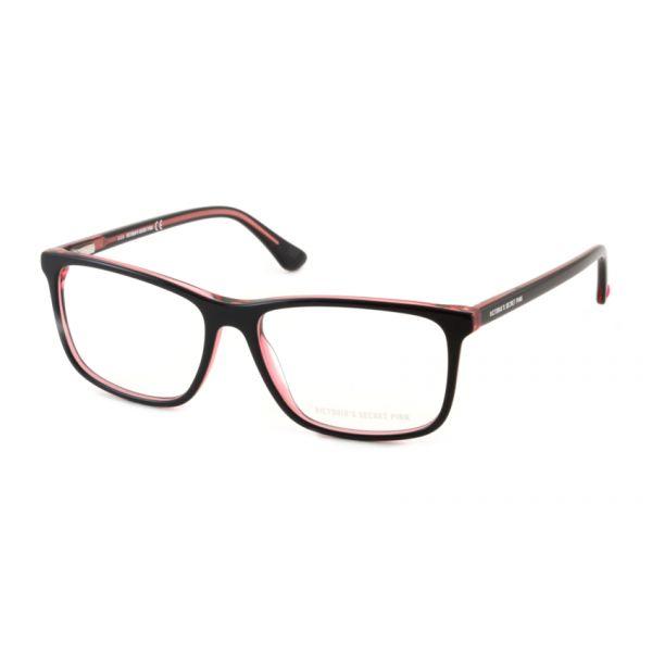 Leesbril Victoria's Secret Pink PK5009/V 005 zwart roze transparant-1-MCR1012