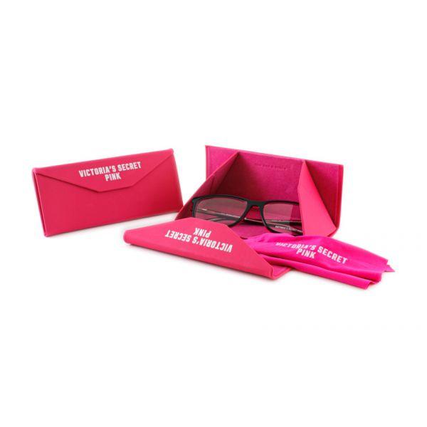 Leesbril Victoria's Secret Pink PK5009/V 005 zwart roze transparant-4-MCR1012