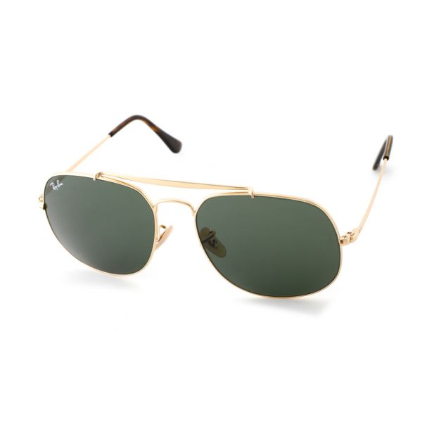 Leeszonnebril Ray-Ban The General RB3561 001 57 goud-1-LUX1134