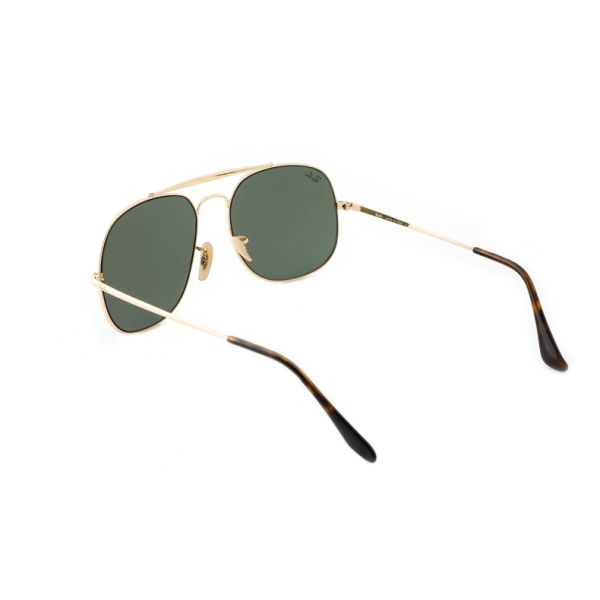 Leeszonnebril Ray-Ban The General RB3561 001 57 goud-2-LUX1134