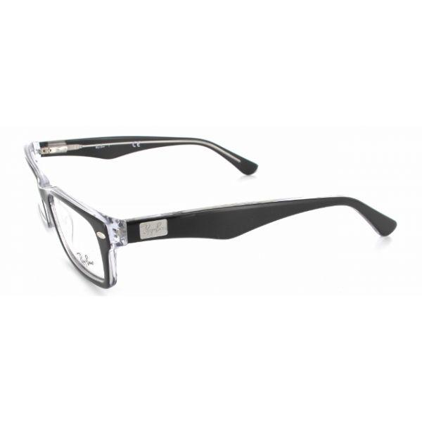 Leesbril Ray-Ban RX5206-2034-52 zwart/transparant-2-LUX1097