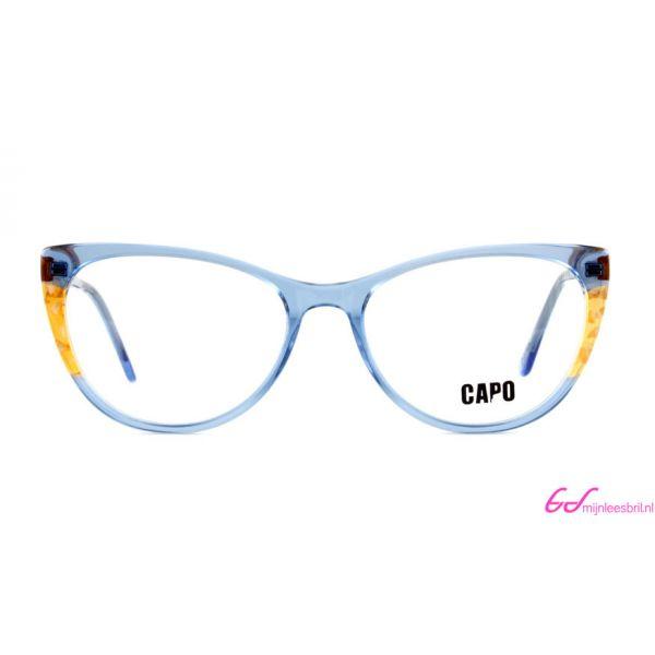 Leesbril Capo Cruella C2 blauw / amber bruin-2-MOR1014