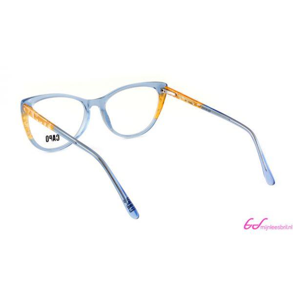 Leesbril Capo Cruella C2 blauw / amber bruin-3-MOR1014