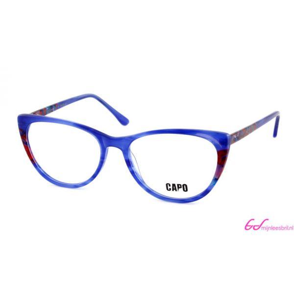 Leesbril Capo Cruella C3 blauw / rood-1-MOR1015