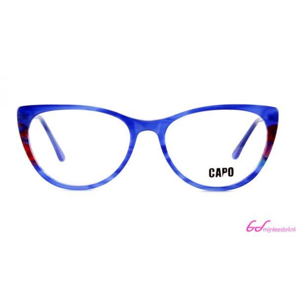 Leesbril Capo Cruella C3 blauw / rood-2-MOR1015