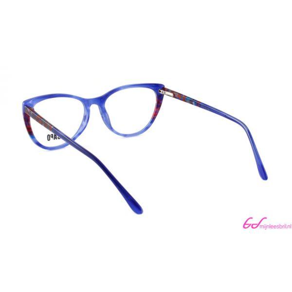 Leesbril Capo Cruella C3 blauw / rood-3-MOR1015