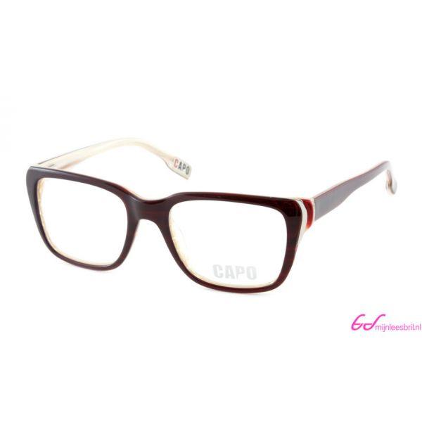 Leesbril Capo Don Vito C2 bruin / beige-1-MOR1017