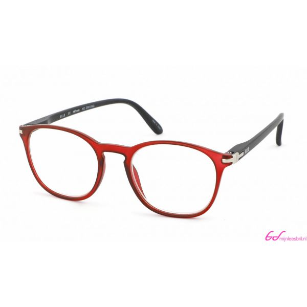 Leesbril Elle Eyewear EL15931-Rood Zwart-+2.00-1-CHA1003200