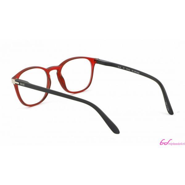 Leesbril Elle Eyewear EL15931-Rood Zwart-+2.00-3-CHA1003200