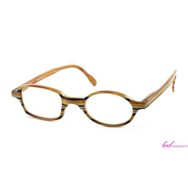 Leesbril Readloop Toukan-Geel zwart gestreept-+2.50-1-RDL1017250