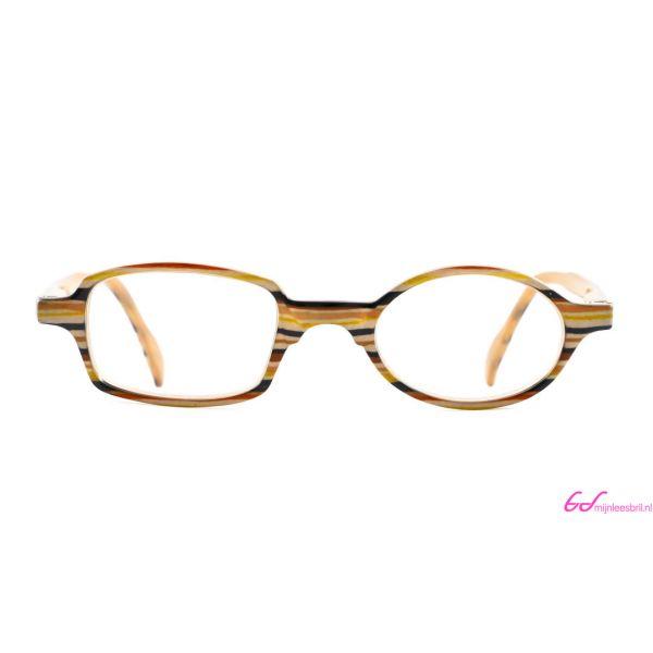Leesbril Readloop Toukan-Geel zwart gestreept-+2.50-2-RDL1017250