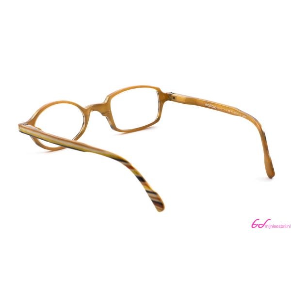 Leesbril Readloop Toukan-Geel zwart gestreept-+2.00-3-RDL1017200