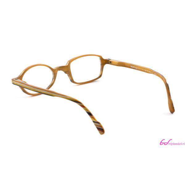 Leesbril Readloop Toukan-Geel zwart gestreept-+2.50-3-RDL1017250