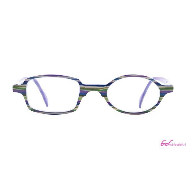 Leesbril Readloop Toukan-Groen paars gestreept-+2.50-2-RDL1029250