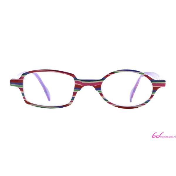 Leesbril Readloop Toukan-Roze paars gestreept-+1.00-2-RDL1030100