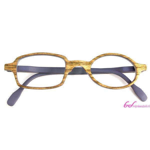 Leesbril Readloop Toukan-Hout grijs-+2.50-4-RDL1016250
