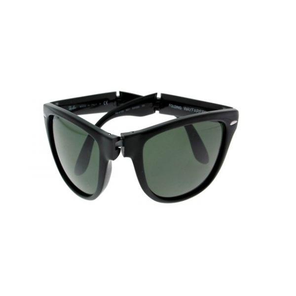 Opvouwbare leeszonnebril Ray-Ban Folding Wayfarer RB4105-601-54 zwart-1-LUX1029