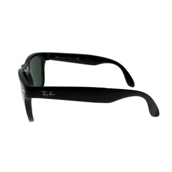 Opvouwbare leeszonnebril Ray-Ban Folding Wayfarer RB4105-601-54 zwart-5-LUX1029