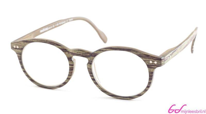 Leesbril Readloop Tradition 2601-01 grijs/groen | mijnleesbril.nl