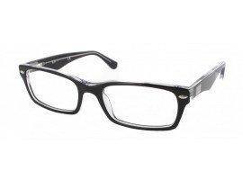 Leesbril Ray-Ban RX5206-2034-52 zwart/transparant | Mijnleesbril.nl