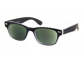 leeszonnebril iZi 07 zwart/transparant - mijnleesbril.nl