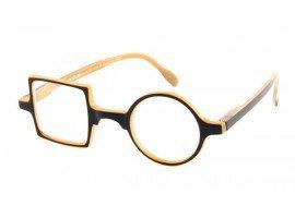 Leesbril Readloop Patchwork 2607-01 zwart/beige