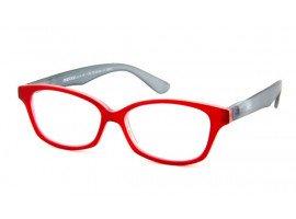 Leesbril Readloop Cauris 2604-01 rood/grijs