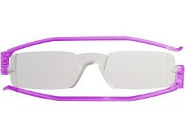 leesbril nannini aompact opvouwbaar paars | mijnleesbril.nl