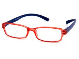 Leesbril INY Hangover G45800 blauw/rood