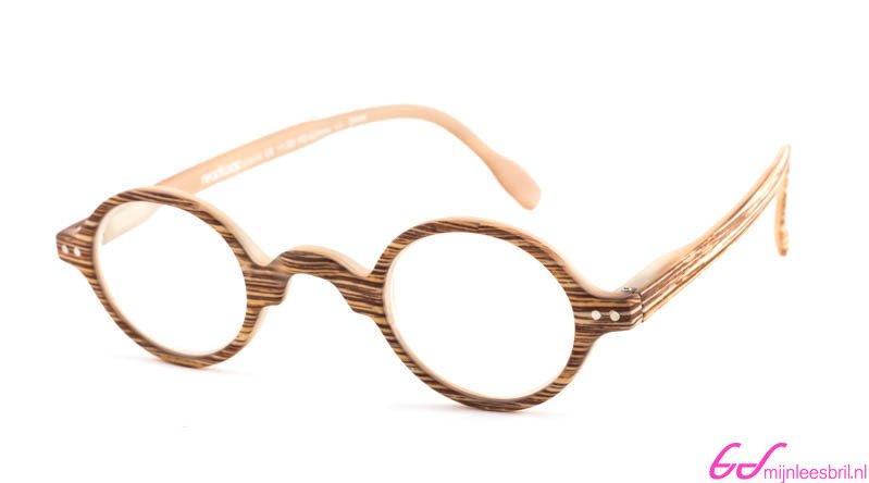 Leesbril Readloop Legende 2602-05 hout blond   mijnleesbril.nl