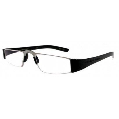 Leesbril Porsche Design P'8801a titanium/zwart | mijnleesbril.nl