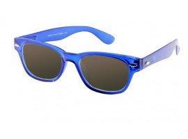 Leeszonnebril INY Woody Sun G38800 blauw/transparant | Mijnleesbril.nl