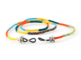 Brilketting Happy - Nes oranje/geel