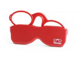 Leesbril Flexsee Rood